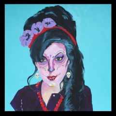 Amy Winehouse -Candyskull