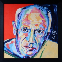 Pablo Picasso_framed_reduced
